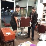 Bringing in the Barber Chairs